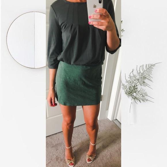M Blouson Green Esprit De Poshmark 34 Corp Sleeve Dresses Dress qPxA1f